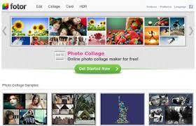 Fotor Aplicaciones para hacer collages de fotos online