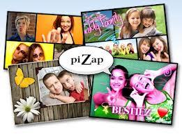PiZap Aplicaciones para hacer collages de fotos online