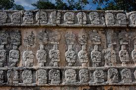 Templo de las Calaveras Lugares para Visitar en Chichén Itzá