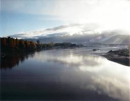 Big River pescar en Canadá