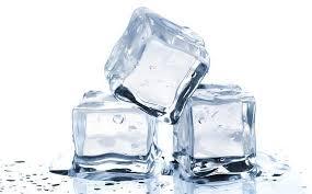 La aplicación de hielo consejos para deshacerse de las espinillas