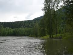Río Kispiox pescar en Canadá
