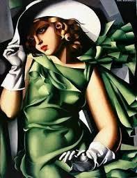 eune fille en vert Top 10 Pinturas Más Famosas y Caras del Mundo