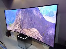 Televisores con curva