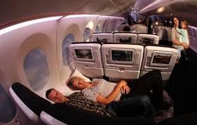 1 Viajar en primera clase en avión