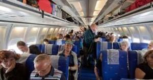 2 Sentarse correctamente en un avión