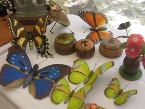Arte con mariposa