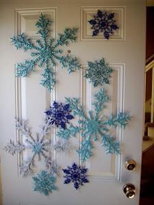 decoración para las puertas