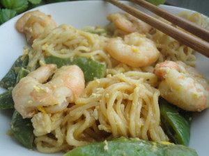fideos con camaron mejores comidas chinas