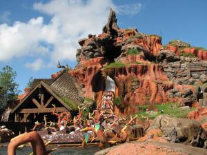 1.-Splash Mountain Mejores atracciones en Disney World