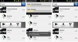 1.- Tinytunes aplicaciones Android para descargar música