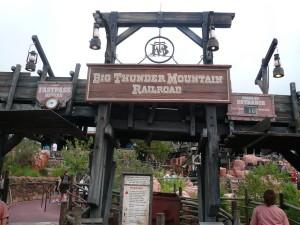 7.- Big Thunder Mountain Mejores atracciones en Disney World