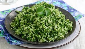 Arroz verde mejores comidas peruanas