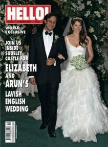 Elizabeth Hurley y Arun Nayar bodas más impresionantes de la historia