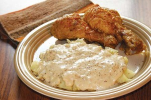 Fried Chicken With Mashed Potatoes Mejores comidas de Estados Unidos