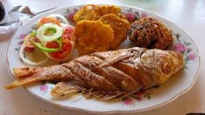 Pescado frito Mejores comidas de Colombia