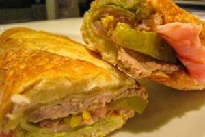 Sándwich cubano mejores comidas cubanas