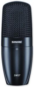 Shure SM-27-SC mejores marcas de micrófonos