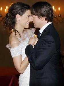 Tom Cruise y Katie Holmes bodas más impresionantes de la historia