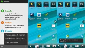 greenify aplicaciones Android para ahorrar batería