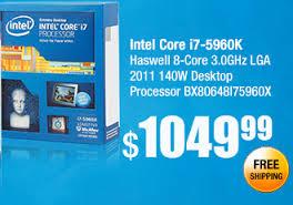1 mejores procesadores i7 de Intel