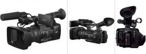 2 mejores cámaras profesionales de vídeo 4k