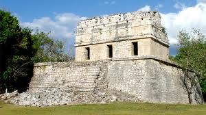Casa Colorada Lugares para Visitar en Chichén Itzá