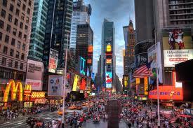 Times Square lugares para Visitar en Nueva York