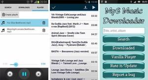 4.- Mp3 Music Downloader aplicaciones Android para descargar música