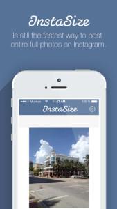 InstaSize Aplicaciones Android para decorar fotos