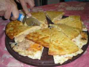 Pizza con fainá mejores comidas argentinas