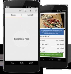 Videoder mejores aplicaciones Android para descargar videos