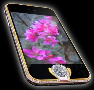 iPhone King's Button celulares más caros del mundo