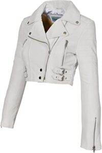 A1 Amanda White, Las 10 mejores chaquetas de cuero para damas