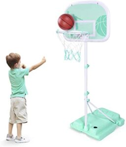 Basketball Hoops Goals Height Adjustable Size A Base for Youth Los 10 mejores kits de baloncesto