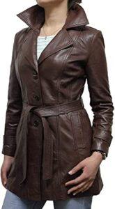 BrandSlock Piel de Oveja Auténtica, Las 10 mejores chaquetas de cuero para damas