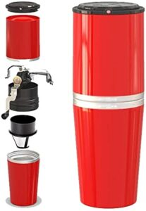 Coffee Grinder-Portable Household Small Hand Grinder Machine los 10 mejores moledores