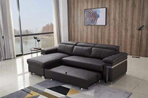 FUNRELAX FM075A-Coffee, los 10 mejores muebles en forma de L