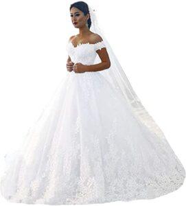 Fanciest Vestidos de Novia de Encaje Blanco 2021 Los 10 mejores vestidos de boda