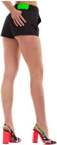 GCDS SS20W030012-02 Los 10 mejores shorts para damas