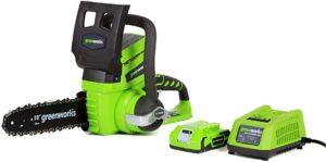 Greenworks 20362 Motosierra de Batería 2.0 AH