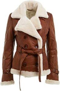 Infinity Breasted Shearling Z15, Las 10 mejores chaquetas de cuero para damas