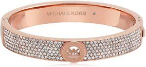 Michael Kors Oro Rosa Tono Pavimenta Fulton Las 10 mejores pulseras de oro para mujer