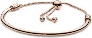 Pandora Brazalete Cubic Zirconia Rose Las 10 mejores pulseras de oro para mujer