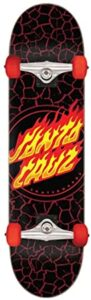 Santa Cruz Skateboards Full Flame Dot Negro