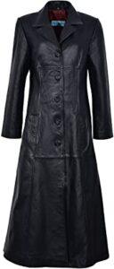 Trench Ladies Black 298 Classic 8 UK .AZUS
