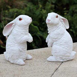 YOLUTO Estatua de Conejo