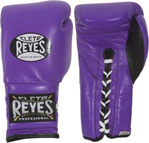 Cleto Reyes Guantes con Cordón para Boxeo y Kickboxing